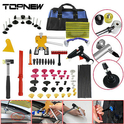 PDR Tools Paintless Dent Repair Auto Car Dent Hail Removal Dent Lifter Tabs Kit