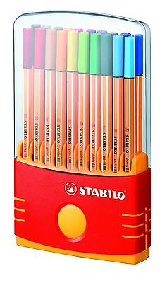 Stabilo 88 fineliner set of 20 Colouring Pens in Colorparade Box