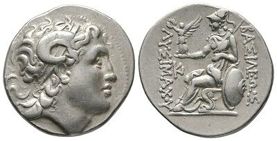 Kings of Thrace, Lysimachos (305-281 BC), Tetradrachm, Kios(?)