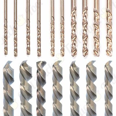 1-13mm SPECIALIST COBALT DRILL BIT HSS M35 Metal/Wood/Plastic Small-Large Strong