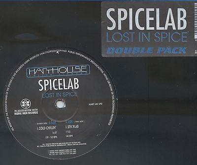 SPICELAB - Lost In Spice UK 2LP Harthouse