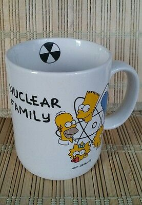 Simpson Nuclear Family The Simpsons Ceramic Coffee Mug Cup