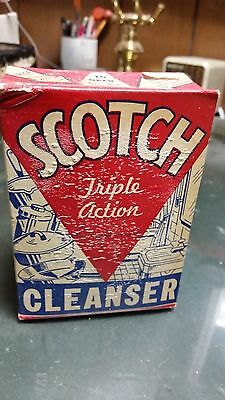 Vintage Box of Scotch Triple Action Cleanser-Los Angeles Soap Co. Unopened