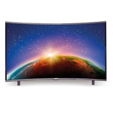 "SMART TV 32"" LED Curvo Smart Android DVB-T2 HEVC Akai CTV3226T"