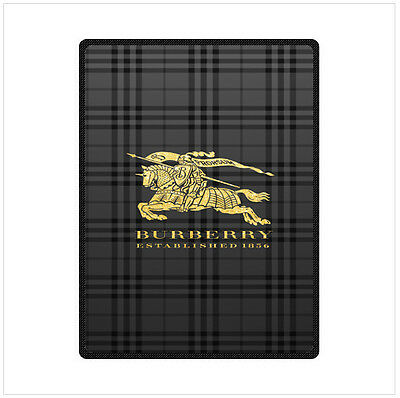 "Brand New Soft Burberry Blanket 58"" x 80"" Inch"