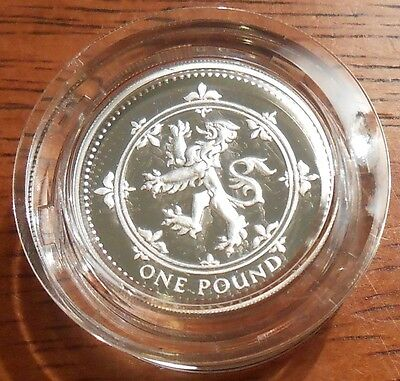 1994 United Kingdom Silver Proof Piedfort One Pound Coin