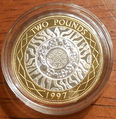 1997 United Kingdom Silver Proof Two Pounds Coin (B)