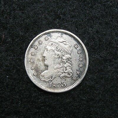 1835  -  CAPPED BUST Half Dime -  VF+