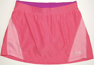 Girls' Champion C9 Skort *Skirt with Shorts S Coral / Pink / Purple EUC
