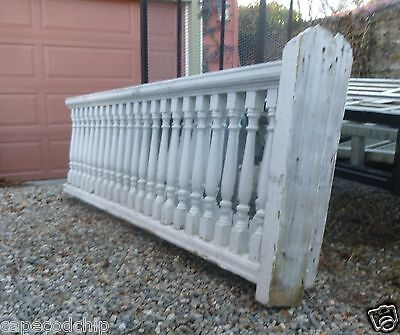 Two (2) Victorian Balustrade RAILING Sections - Fabulous Architectural Salvage