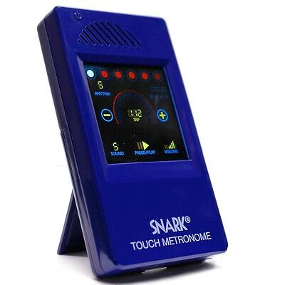 Snark Wme1 Electronic Metronome Pocket Sized Full Colour Touch Screen