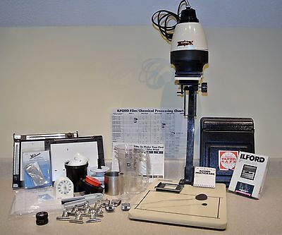 Hansa S-635 photography enlarger and supplies