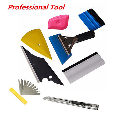 8in1 Squeegee Car Window Tinting Auto Film Install Wrapping Applicator Tools DIY