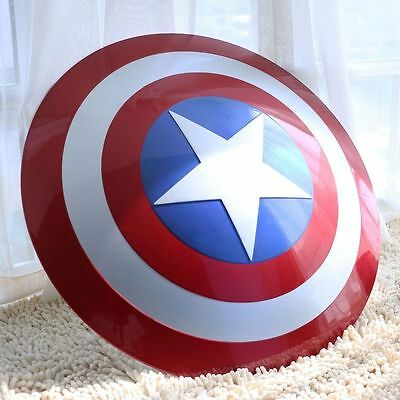 New 1:1 The Movie Color Avengers Captain America Shield ABS Cosplay Props