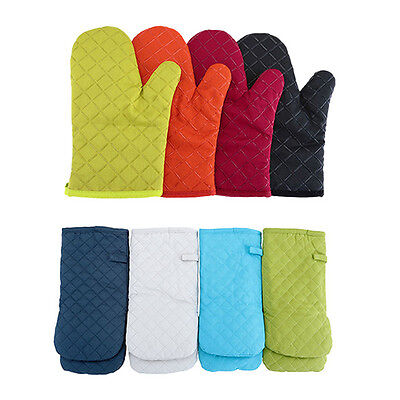 1pc Cotton Pot Holders Set Oven Mits Mitt Glove Heat Resistant Baking Protector