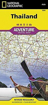 Thailand by National Geographic Maps Sheet map  folded Book New