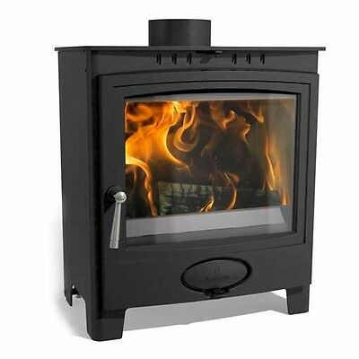 Aarrow Ecoburn 5 Widescreen Multi Fuel Wood Burning Stove Free Delivery