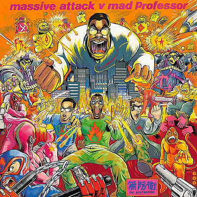 Massive Attack v Mad Professor - No Protection - Vinyl LP *NEW & SEALED*