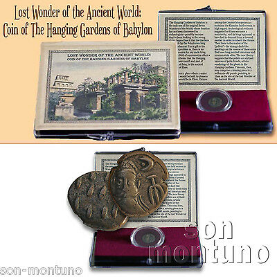 LOST WONDER ANCIENT WORLD - Hanging Gardens Babylon Coin - Elymais ELAM Drachma