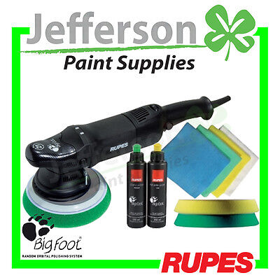 Rupes Lhr21E 21Mm Bigfoot Random Orbital Polisher Kit Polishing Buff Buffing