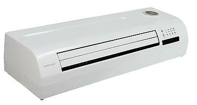 Prem-I-Air 2 kW PTC Over Door Heater/Fan with Remote Control and Timer