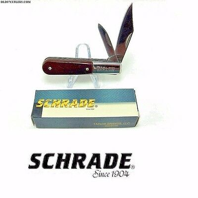 Schrade Barlow pocket knife JackMaster New in Box Free Shipping USA
