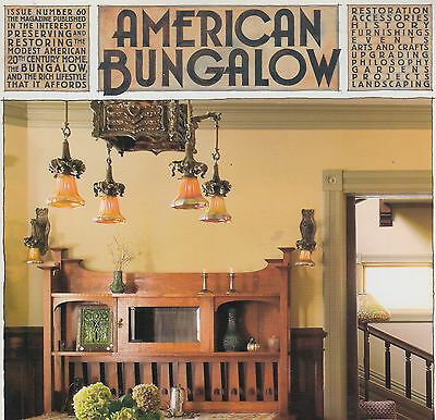 American Bungalow Magazine, No. 60, Winter 2008-2009; 128 pages