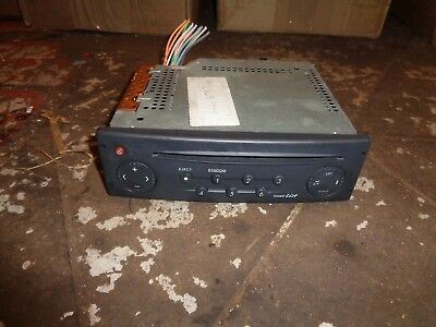 Renault Laguna 1.9Dci 2004 Cd Player With Code