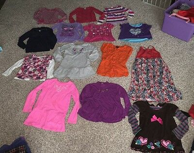 Large Girls Mixed Lot Of 24! Pre-owned. Ralph Lauren, Gymboree & More 5-6