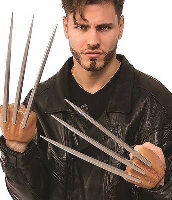 Wolverine Adamantium Claws Blades Adult Marvel X-men Costume Accessory