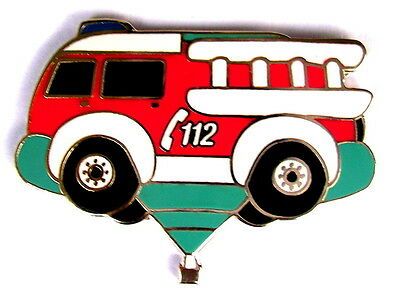 """BALLON """"SPECIAL SHAPE"""" Pin / Pins - FIRE ENGINE / D-OMAY(2) [3857]"""