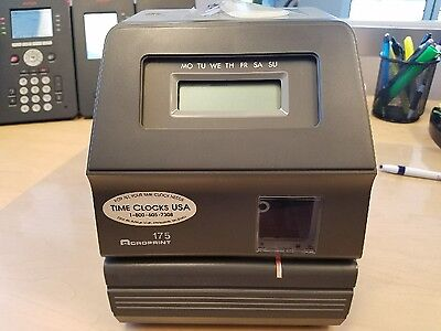 Acroprint 175 Timeclock - Key included