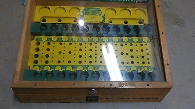 Rare vintage Henry L Hanson tap and die store display