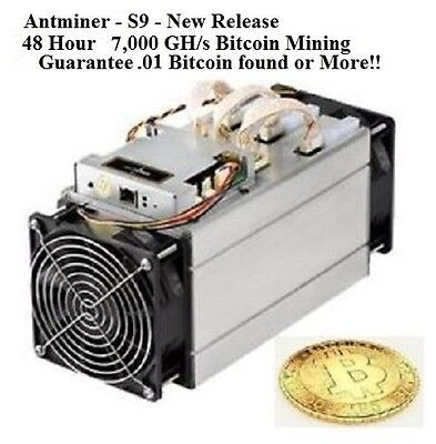 New! 7,000 Ghs - 48 Hour Bitcoin Mining Contract - Guaranteed .01 Bitcoin Return
