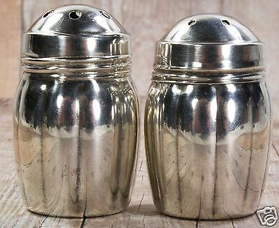 Set of Individual Weidlich Sterling Silver Salt & Pepper Shakers #7250