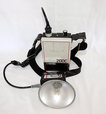 Norman 200C Outfit w LH2K Flash Head