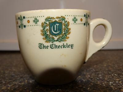 The Checkerly Hotel Prouts Neck Maine Demitasse Cup only