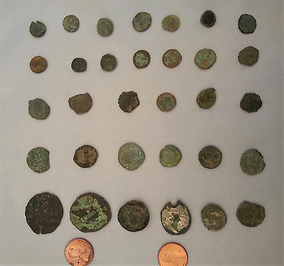 Mixed lot of Ancient Roman? Greek ?Other COINS