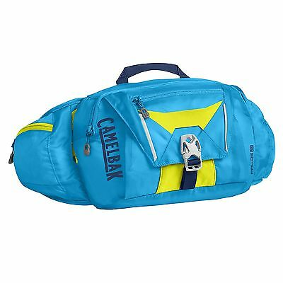 CamelBak Palos Cycling Water Drinks Hydration Pack - Atomic Blue/Sulfur Springs