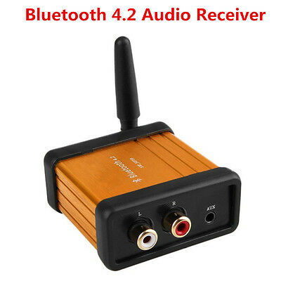 Mini Bluetooth 4.2 Audio Receiver Stereo Hi-Fi Digital Amplifier Board 3.5mm/RCA