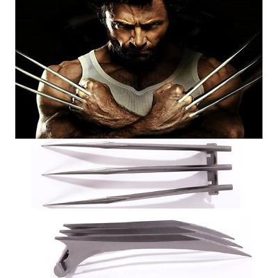 US Stock 1 Pair X-Men Wolverine Logan ABS Claws Refinement Cosplay Props Gifts
