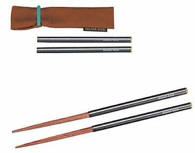 Mont-bell field chopsticks 1124542 camp barbecue cutlery Outdoor Tableware