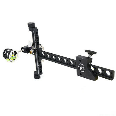 Compound Bow Aiming Accessories Archery Bow Sight Aluminum Micro Adjust pole