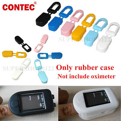 6 Colours Soft Rubber case Cover for Protecting Pulse Oximeter CMS50D/50DL/50D+