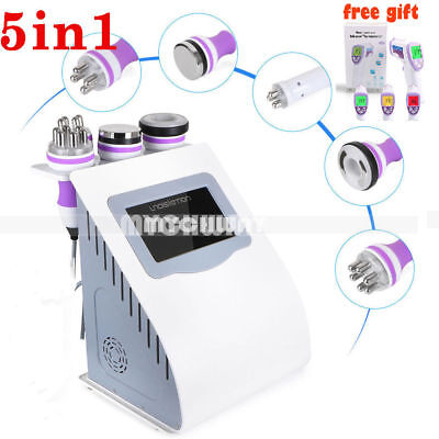 RF Vacuum Cavitation 5in1 Cellulite Removal Ultrasonic Body Slimming Machine SPA