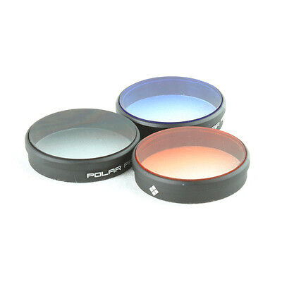 GENUINE Polar Pro DJI Phantom 4/Phantom 3 Gradient Filters 3-Pack Free Delivery