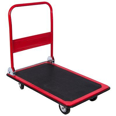 Platform Hand Trolley Truck Sack Cart Flat Bed Folding Heavy Duty Transport