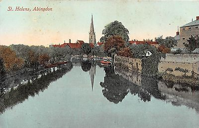 POSTCARD    OXFORDSHIRE    ABINGDON   St  helens