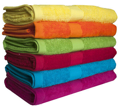 Personalised Embroidered Cotton Bath Towel / Bath Sheet Free Name Embroidery