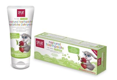 Splat Natural Toothpaste Kids 2-6 Years Strawberry & Cherry - 50ml